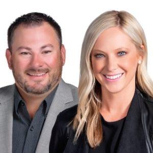 Matt Bassitt and Amanda Wilson
